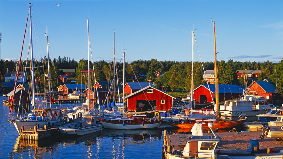 Åland-small-harbour