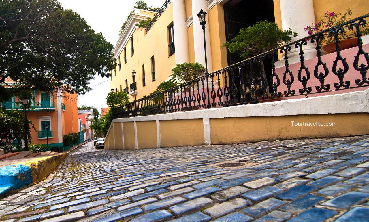 Cobblestone Streets of Old San Juan