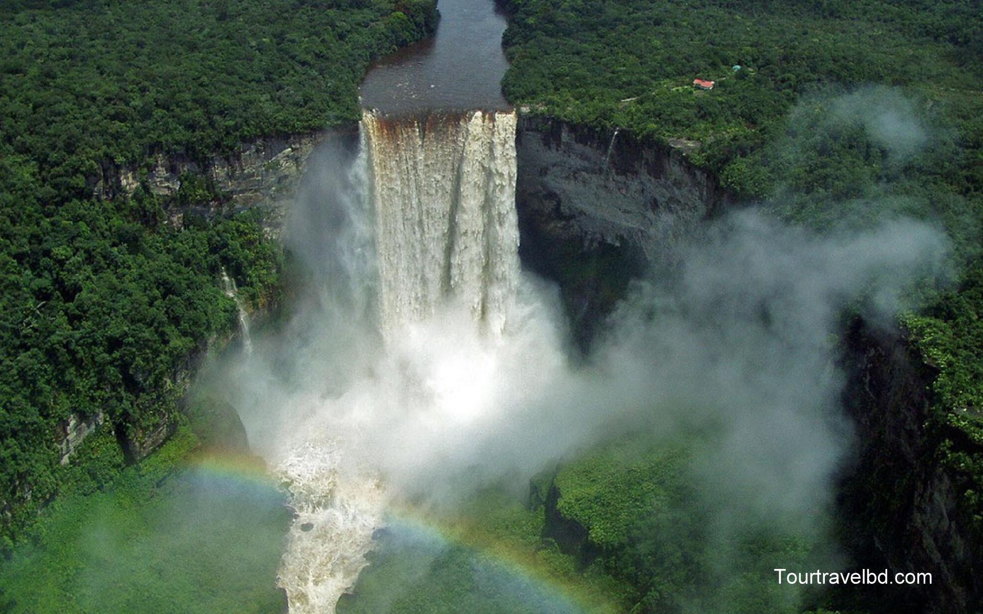 Kaieteur and Orinduik Falls